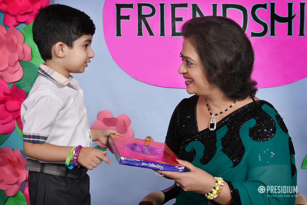 CELEBRATING THE BONDS OF LOVE WITH CHAIRPERSON ON FRIENDSHIP DAY