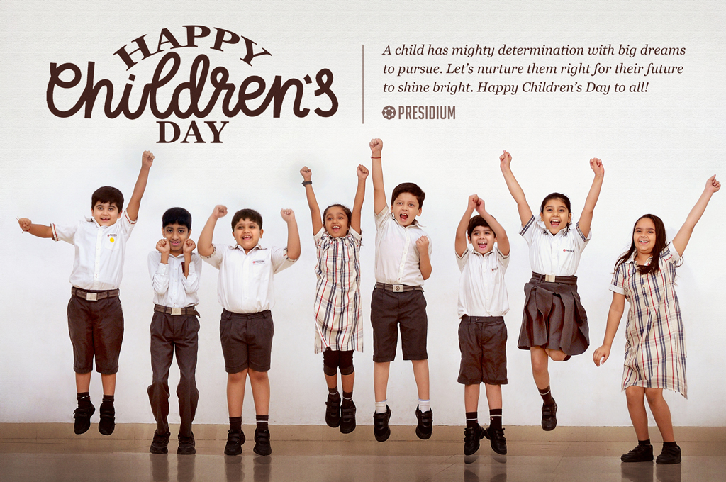 CHILDREN'S DAY: LET'S GIVE WINGS TO A CHILD'S DREAM TO FLY HIGH