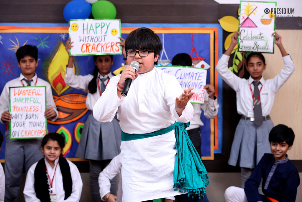 SAY NO TO CRACKERS RALLY: SMALL STEP TOWARDS A NOBLE CAUSE
