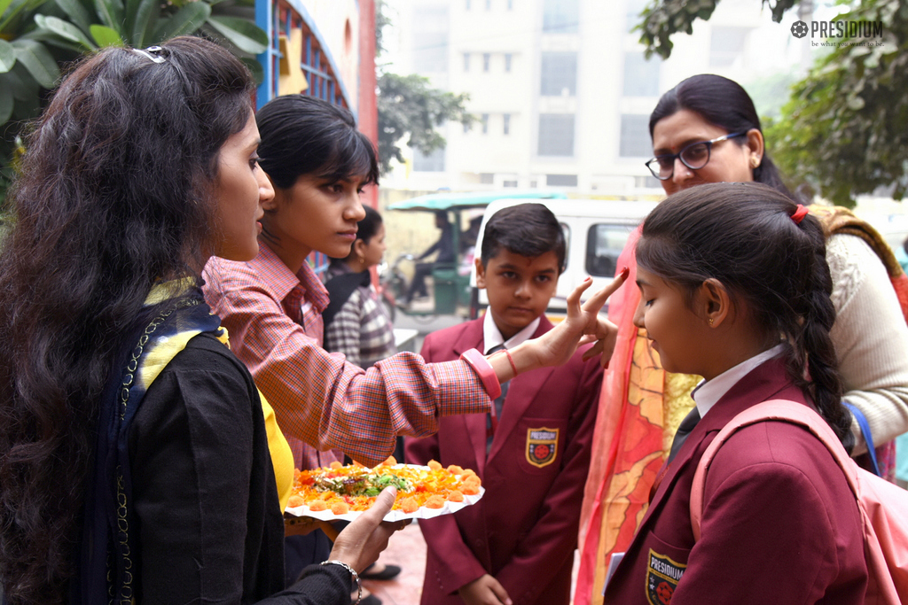 PRESIDIANS EXPRESS THEIR LOVE WITH A KIND DONATION TO SPARSH