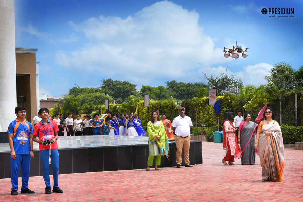 PRESIDIANS ADD WINGS TO THEIR DREAMS BY DEVELOPING A DRONE