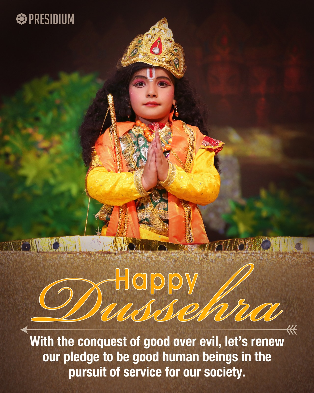 DUSSEHRA: CELEBRATING THE TRIUMPH OF GOOD OVER EVIL