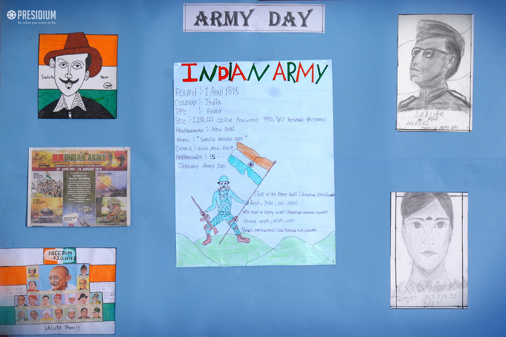 Special Assembly on Army Day