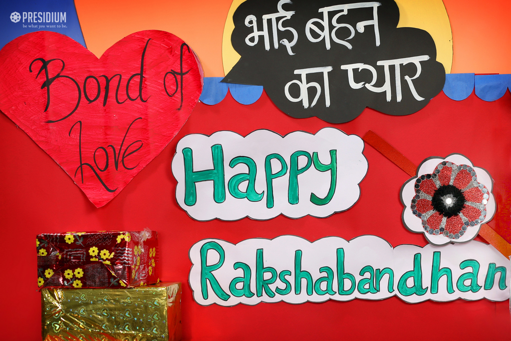 CHERISHING INDIAN TRADITIONS THROUGH AN ASSEMBLY ON RAKSHABANDHAN