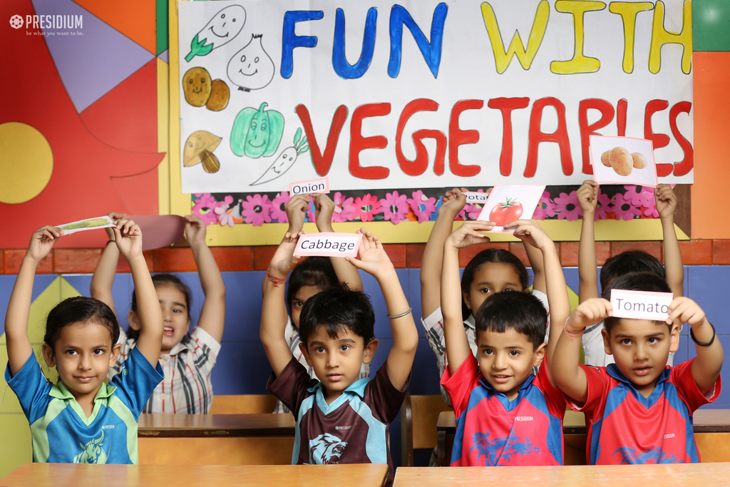 Club Activity - Fruits & Vegetables 2019