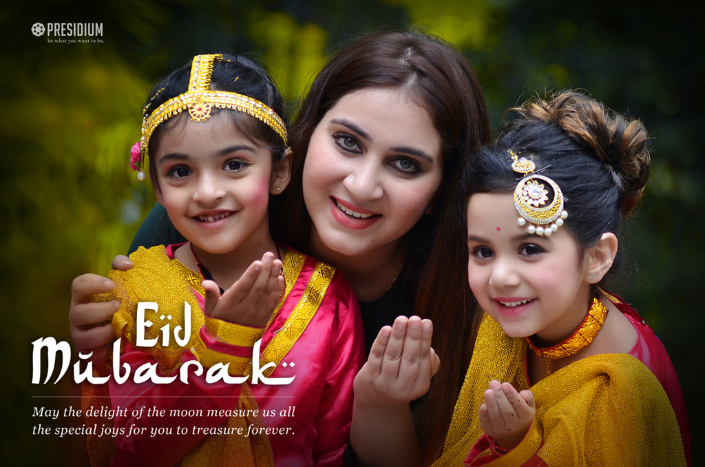 MAY THE MAGIC OF EID AL-FITR BRING HAPPINESS IN YOUR LIFE!