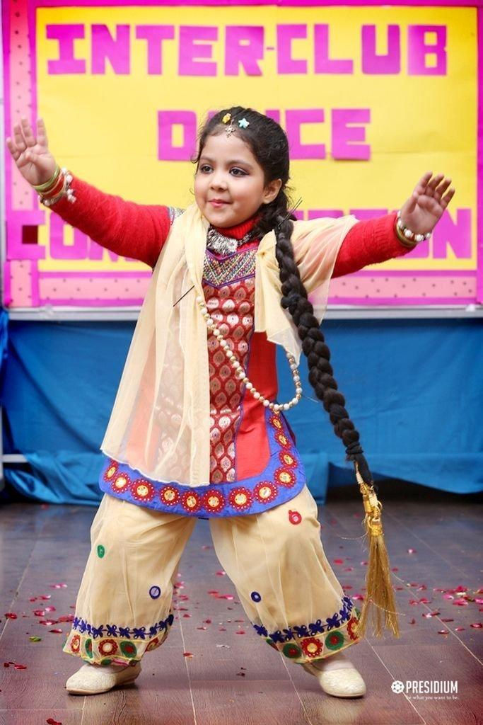 FOLK DANCE: PRESIDIANS CELEBRATE THE CULTURAL TREASURES OF INDIA