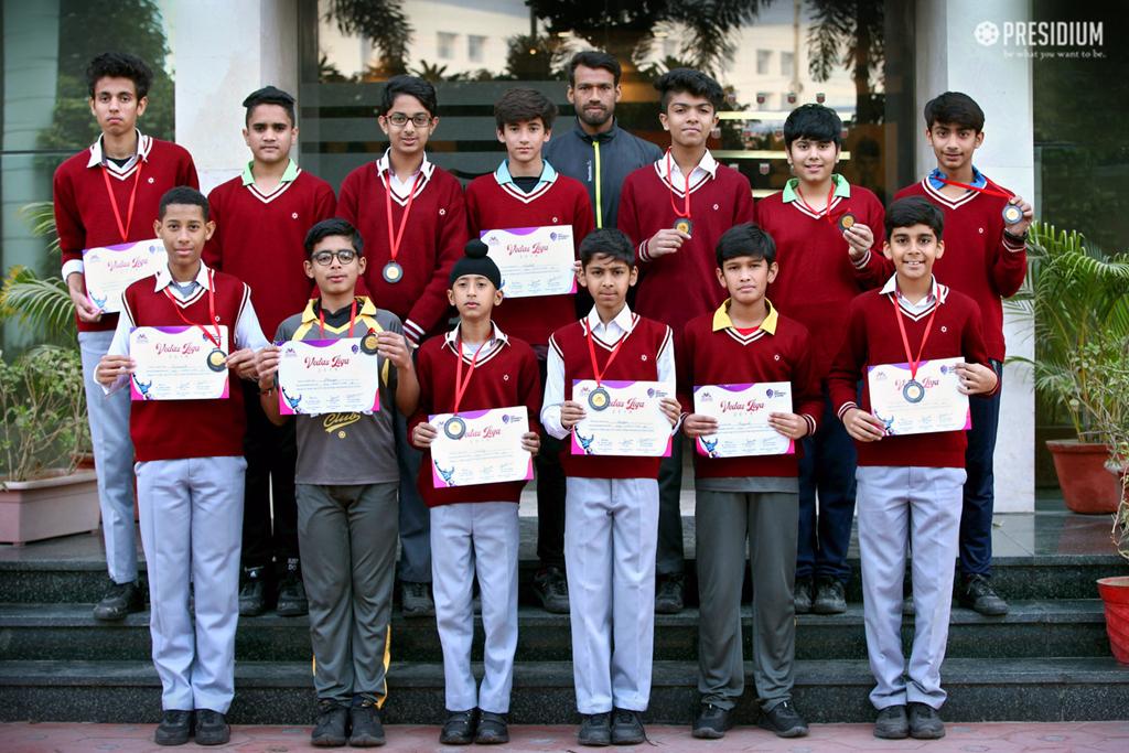Interschool football tournament 2019