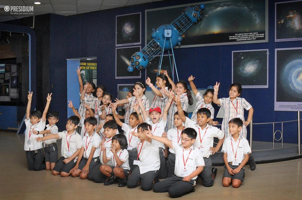 VISIT TO NEHRU PLANETARIUM BOOSTS KIDS' CURIOSITY IN ASTRONOMY
