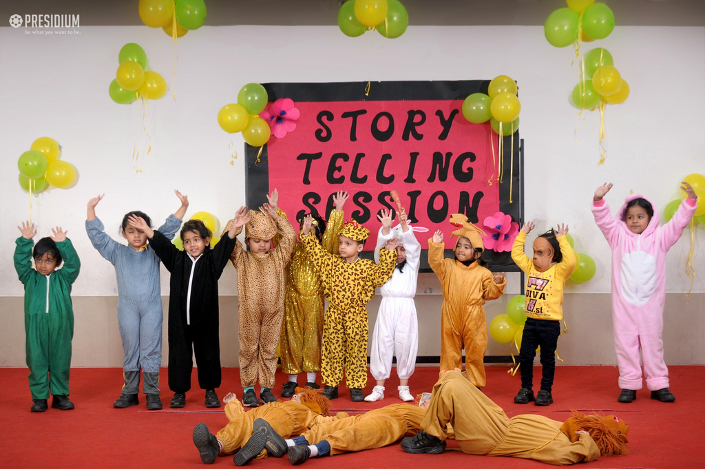 Story telling session 2019