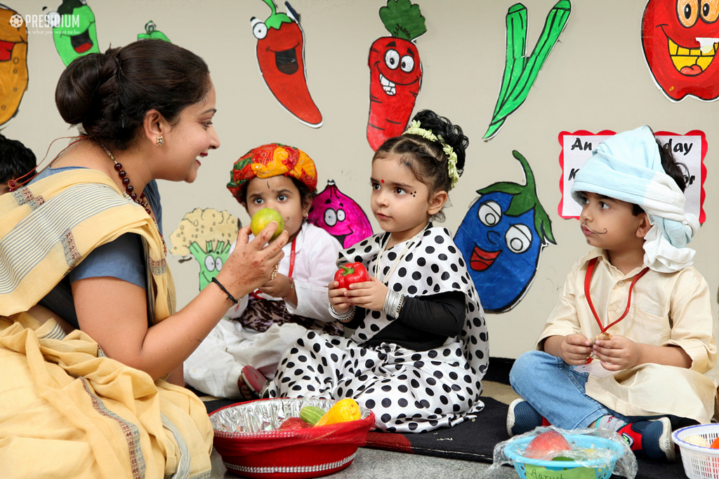 THE 'FRUIT & VEGETABLE' ACTIVITY