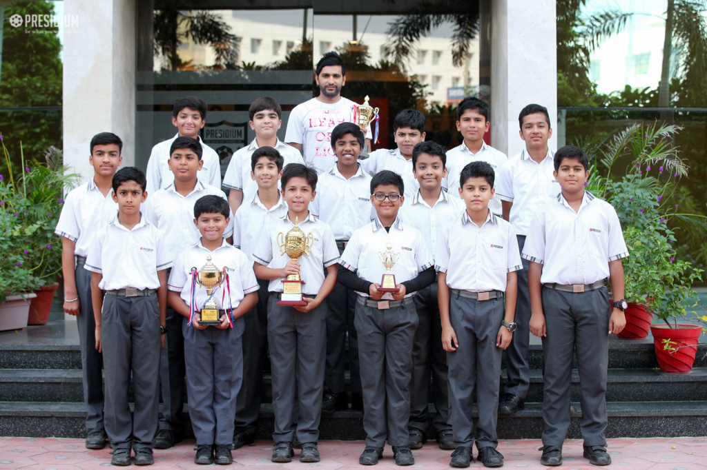 GURGAON BECOMES CHAMPION AT SGFI CRICKET TOURNAMENT