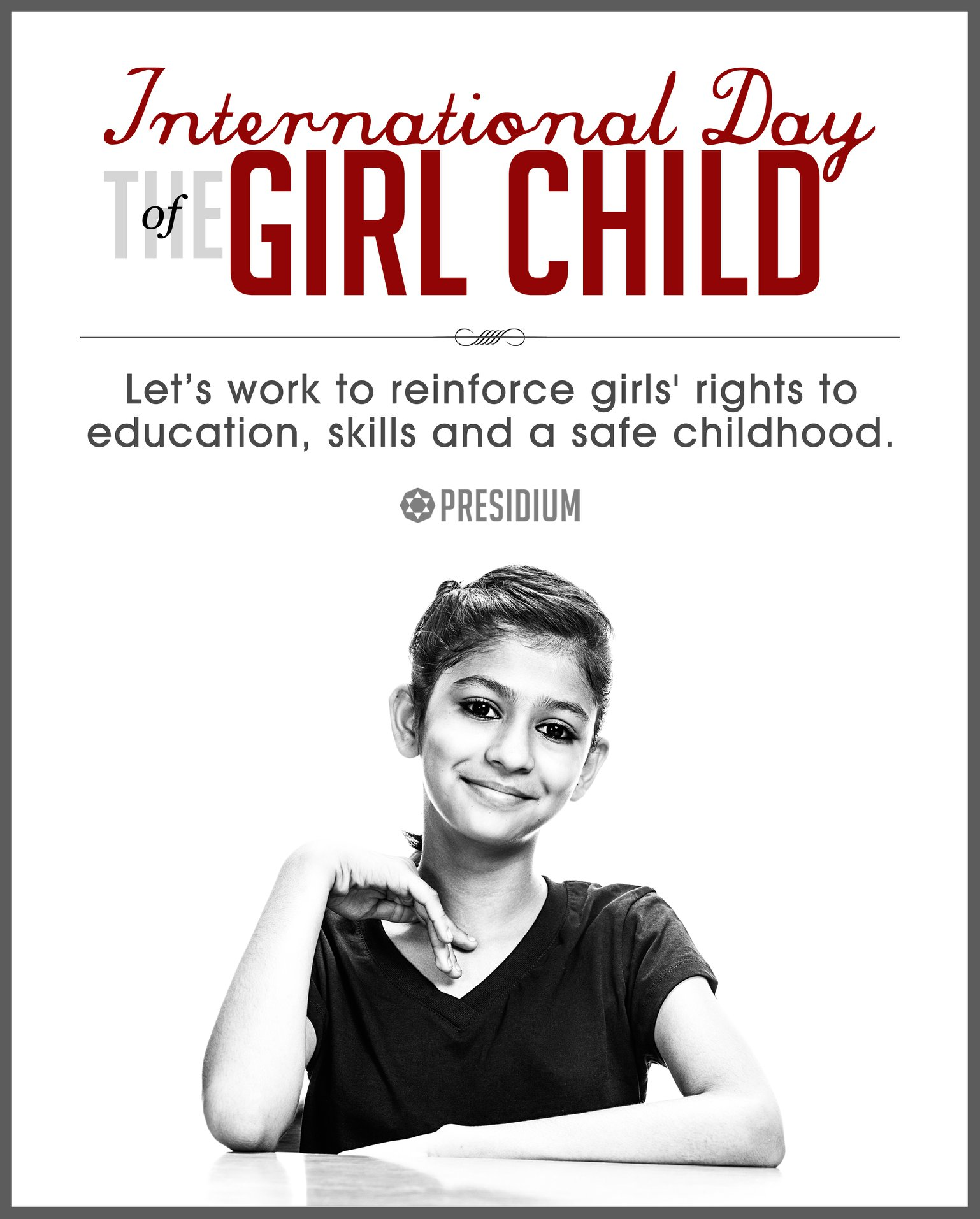 GIRL CHILD DAY: GIRLS OF TODAY ARE THE LEADERS OF TOMORROW