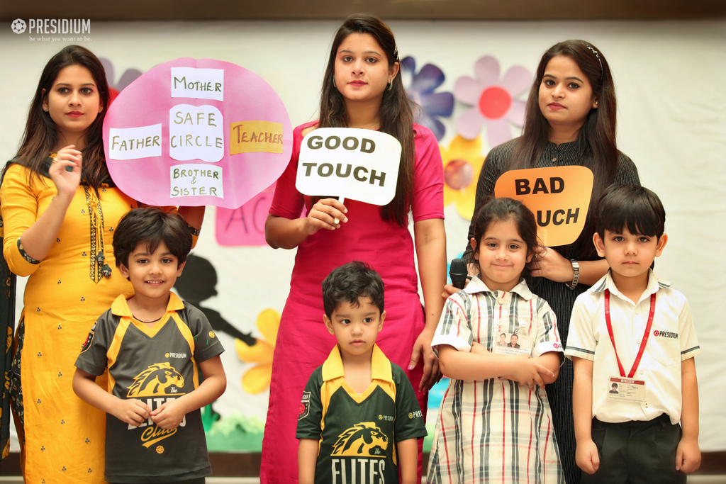 Good touch bad touch workshop 2019