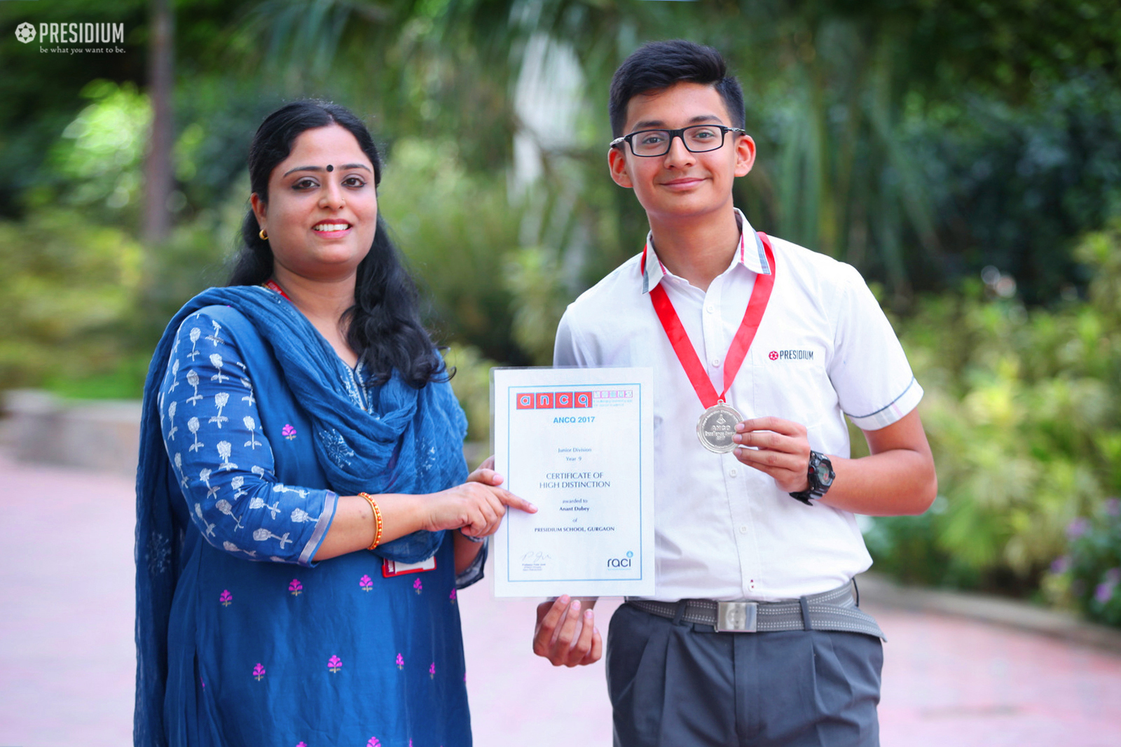 ANANT DUBEY BAGS LAURELS AT AUSTRALIAN NATIONAL QUIZ