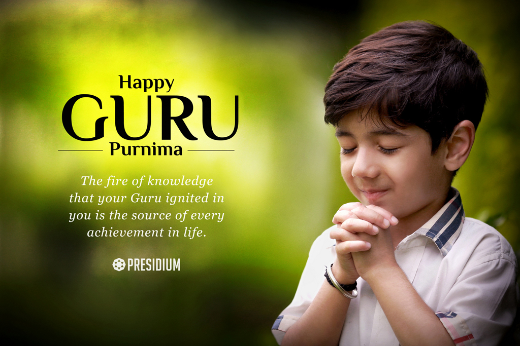 BOWING TO THE TORCHBEARERS OF OUR LIVES ON GURU PURNIMA