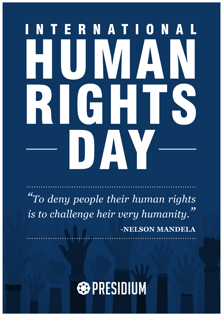 LET US LEARN, EMBRACE, UPHOLD AND STAND FOR OUR HUMAN RIGHTS