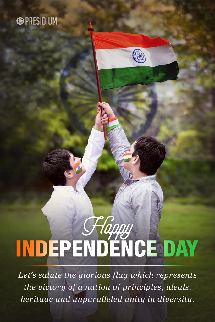 LET'S BASK IN THE SPIRIT OF FREEDOM, THIS INDEPENDENCE DAY!