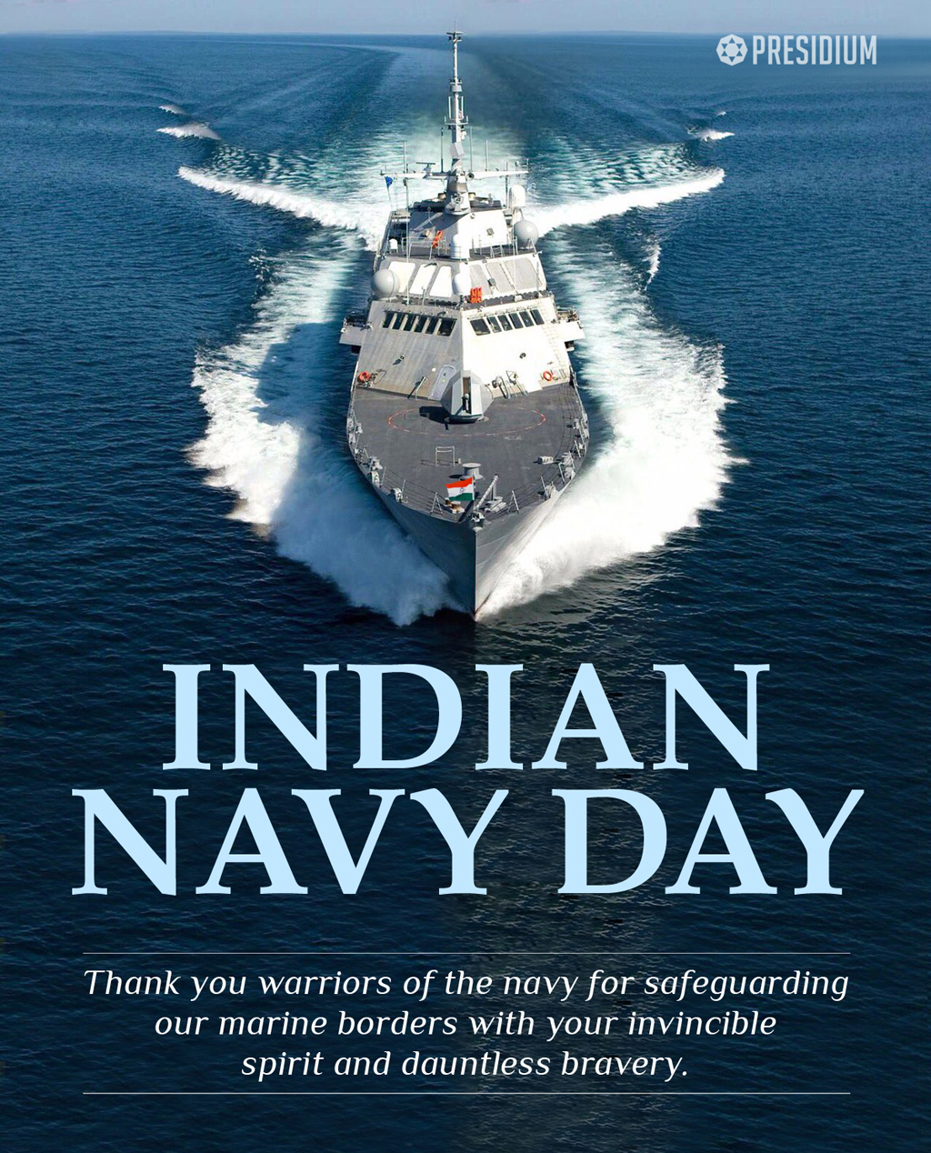 INDIAN NAVY DAY:SALUTING THE INDOMITABLE STRENGTH OF INDIAN NAVY!