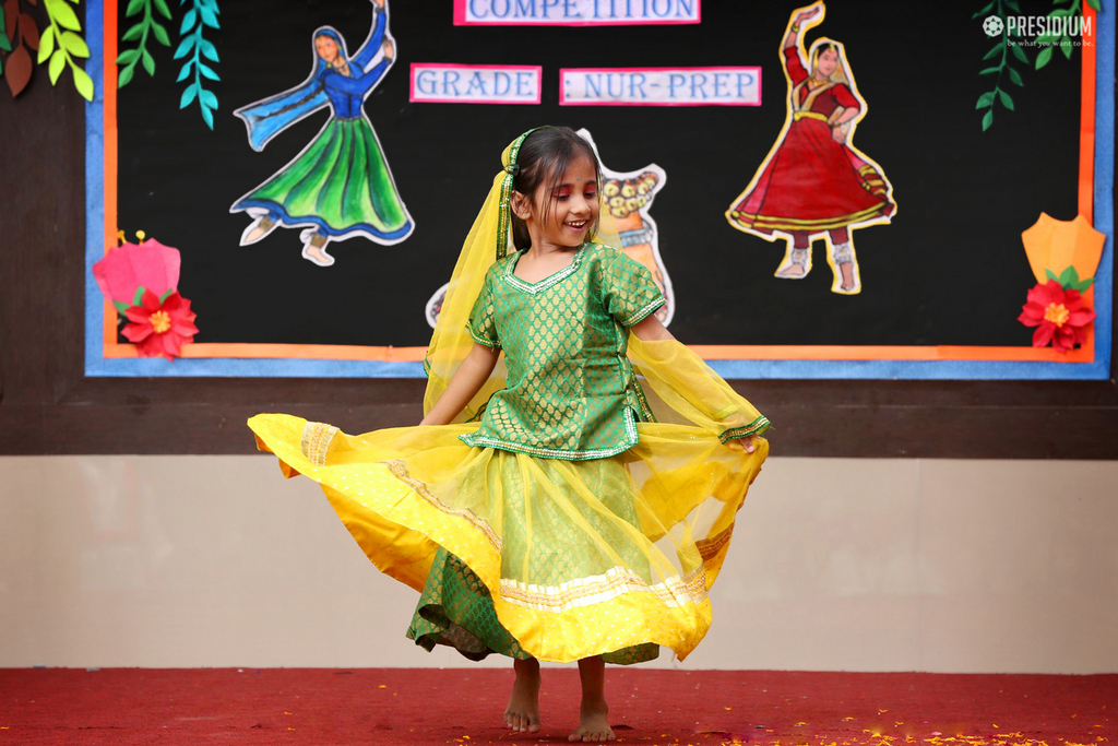 Inter class dance competition