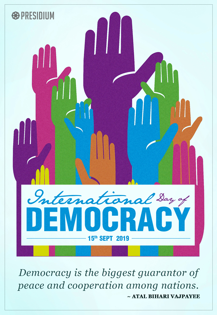 INTERNATIONAL DEMOCRACY DAY :AN ODE TO WORLD'S LARGEST DEMOCRACY