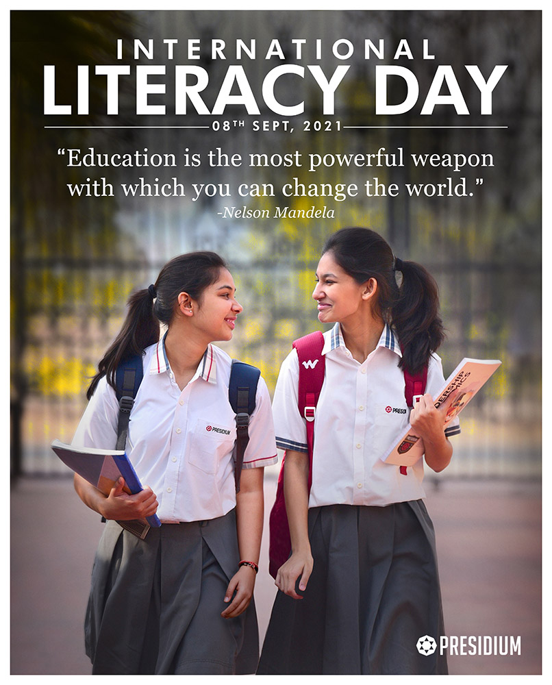 LITERACY IS NOT A LUXURY, IT'S A RIGHT & RESPONSIBILITY!