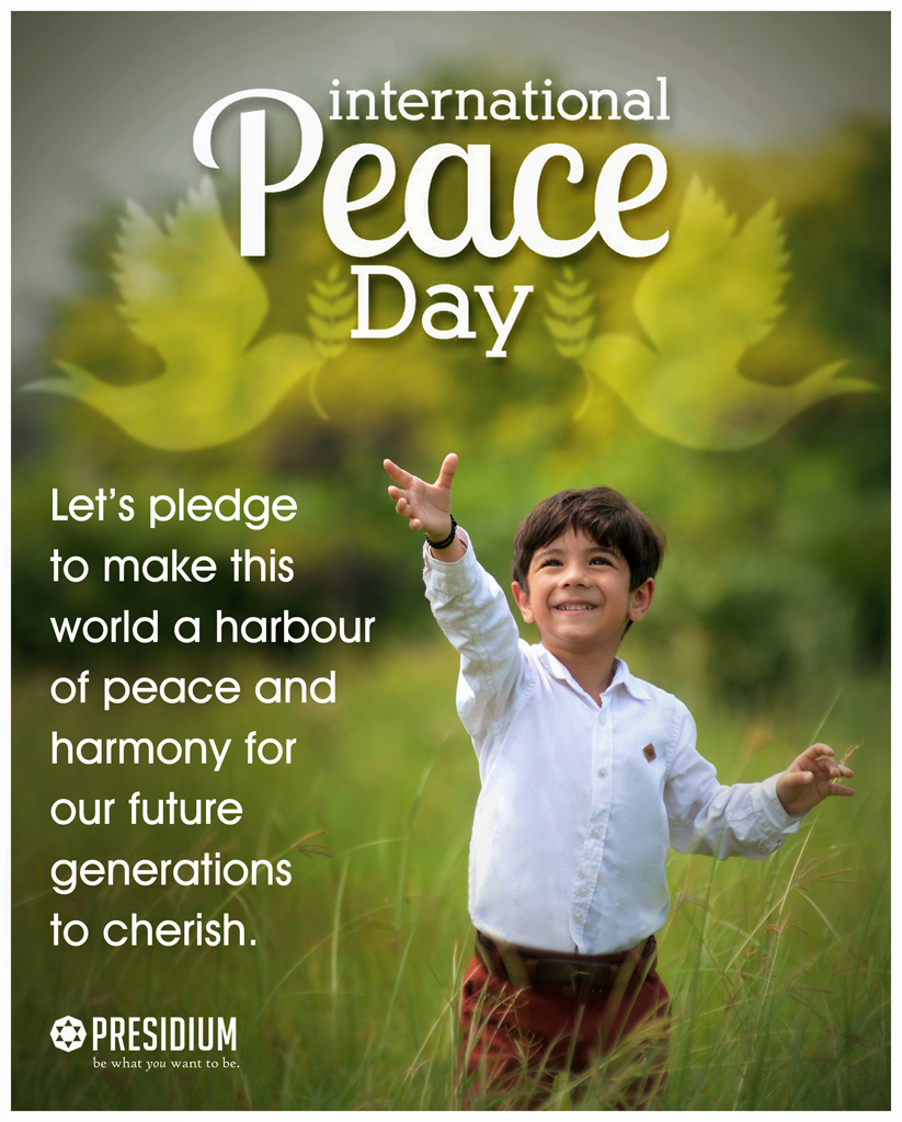 LET'S PLEDGE TO BUILD A PEACEFUL & SUSTAINABLE WORLD FOR ALL