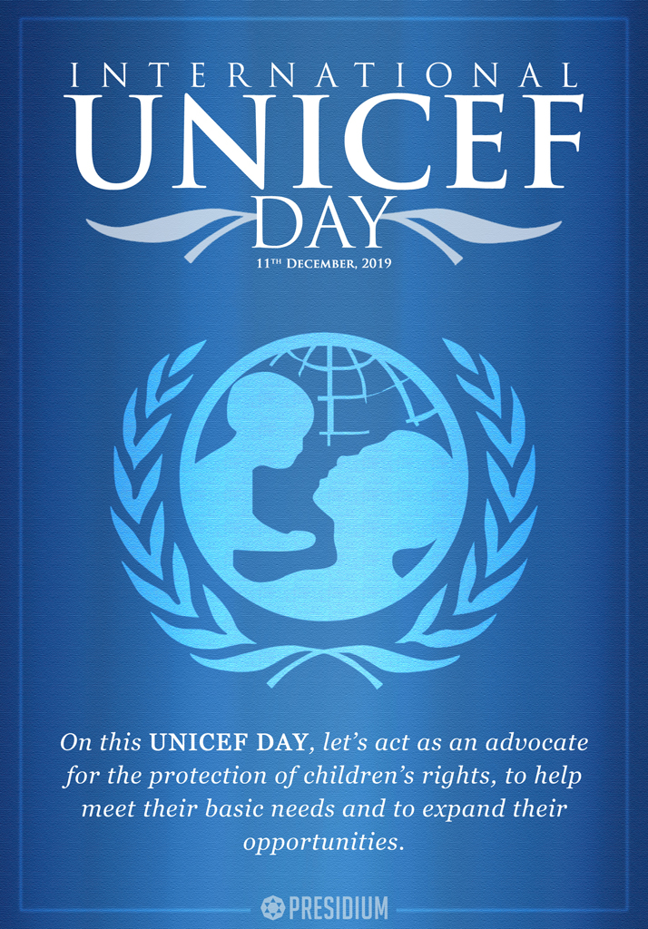 UNICEF DAY: LET'S SUPPORT EVERY CHILD'S RIGHT FOR A BETTER FUTURE
