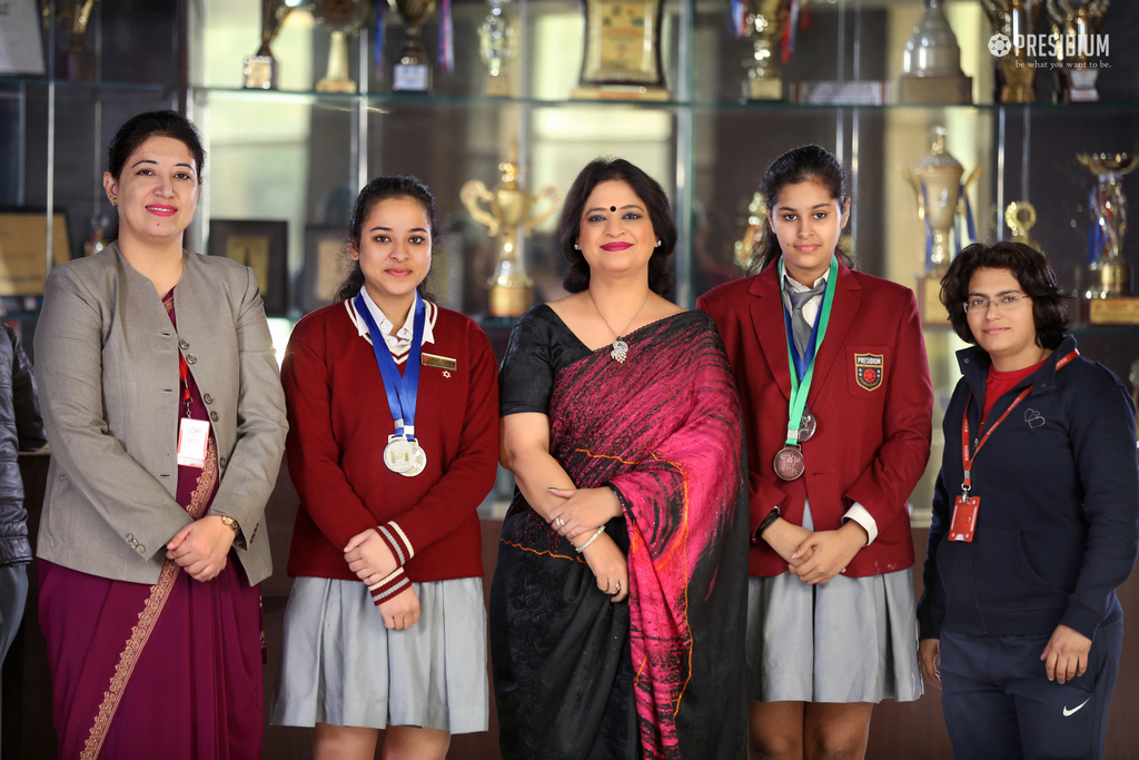 Achievements with Sudha Ma'am