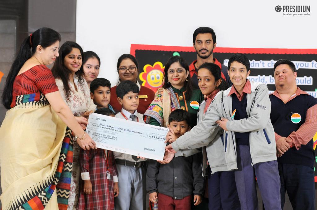 Presidium Indirapuram for their generous donation 2018