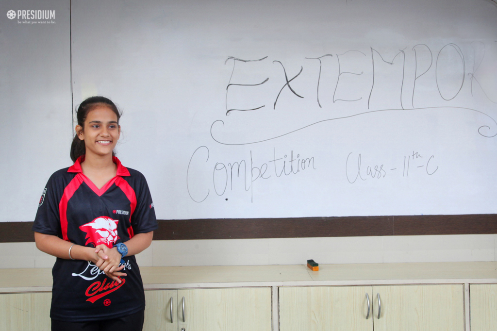 EXTEMPORE COMPETITION: WHEN SPONTANEITY MEETS CONFIDENCE!