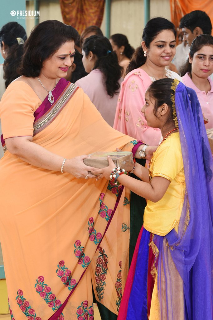 PRESIDIANS CELEBRATE BLISSFUL JANMASHTAMI WITH SPECIAL CHILDREN