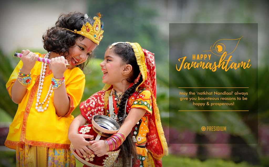 CELEBRATING THE FESTIVE ESSENCE OF JANMASHTAMI WITH CHAIRPERSON