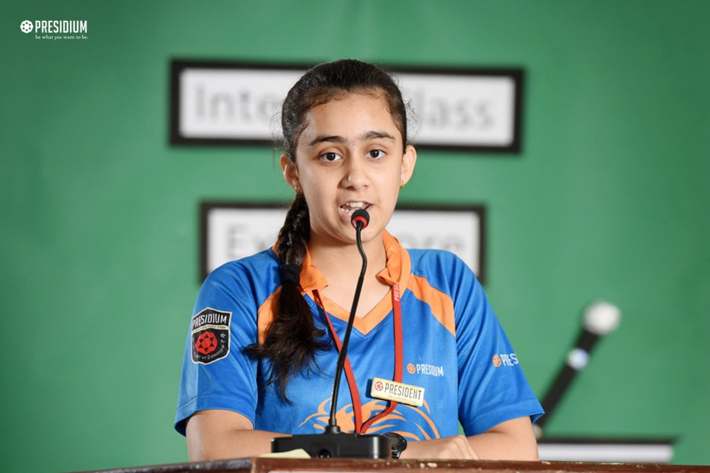 PRESIDIANS CREATE MAGIC WITH WORDS AT THE EXTEMPORE COMPETITION