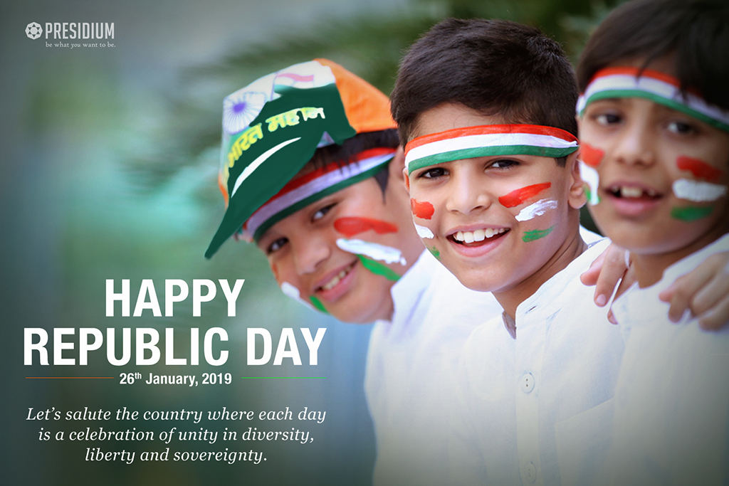 LEADERS OF TOMORROW CELEBRATE THE 70TH REPUBLIC DAY
