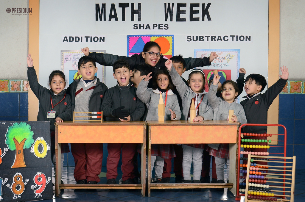 MATHS WEEK: PRESIDIANS EXPLORE THE INTRIGUING WORLD OF NUMBERS