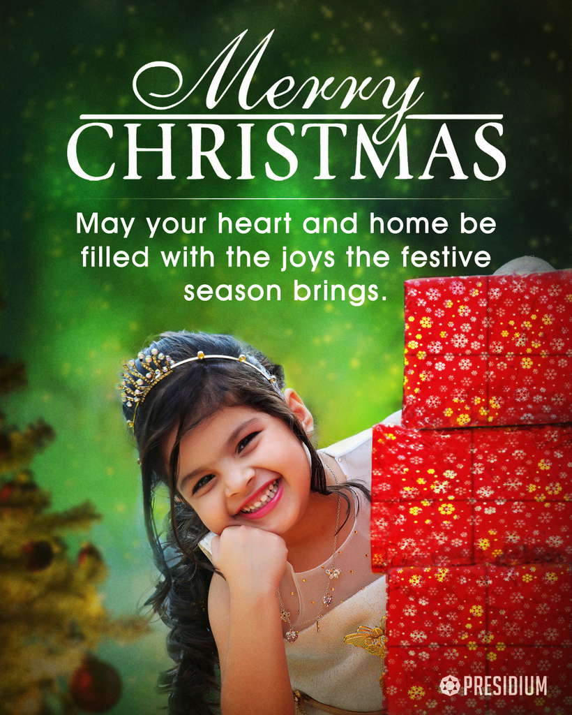 MAY THIS CHRISTMAS BRING ABUNDANCE OF LOVE & JOY IN YOUR LIFE