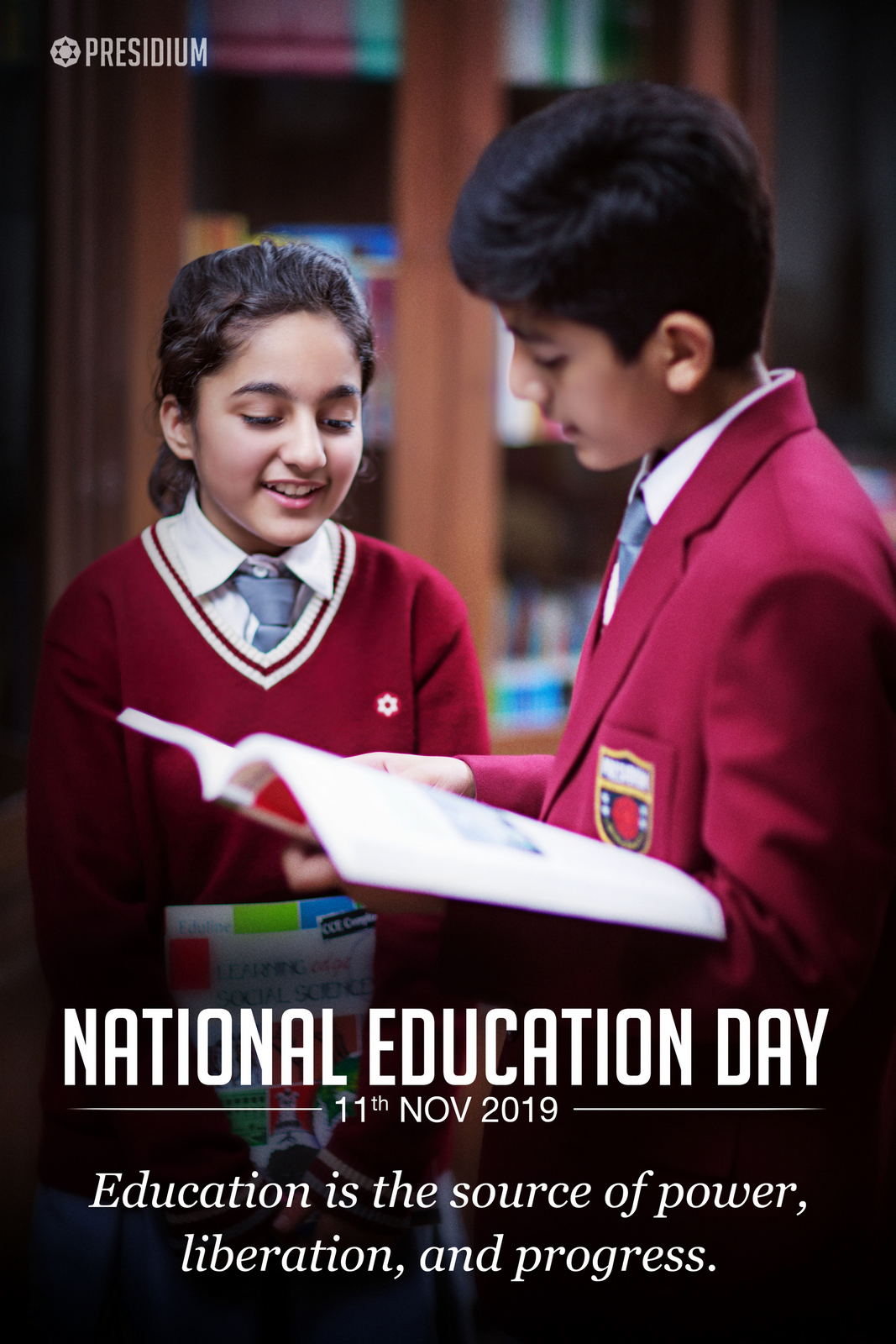 NATIONAL EDUCATION DAY: EDUCATION IS THE PREMISES OF PROGRESS