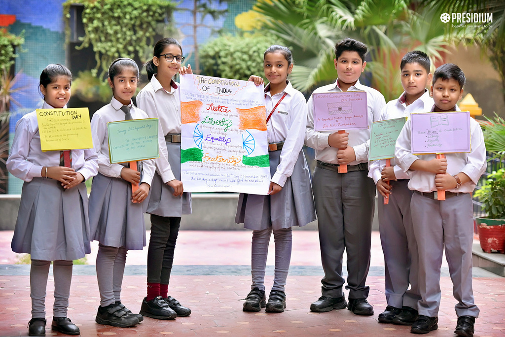STUDENTS CELEBRATE NATIONAL CONSTITUTION DAY -2019