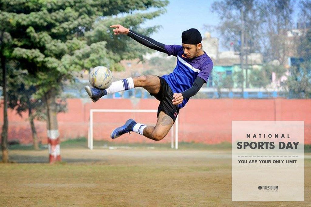 CELEBRATING THE JOY OF SPORTSMAN SPIRIT ON INDIA'S NATIONAL SPORTS DAY