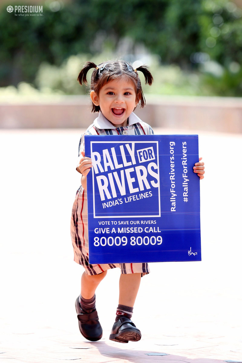 RALLY FOR RIVERS: PRESIDIANS PROUDLY ACKNOWLEDGE THE CAUSE