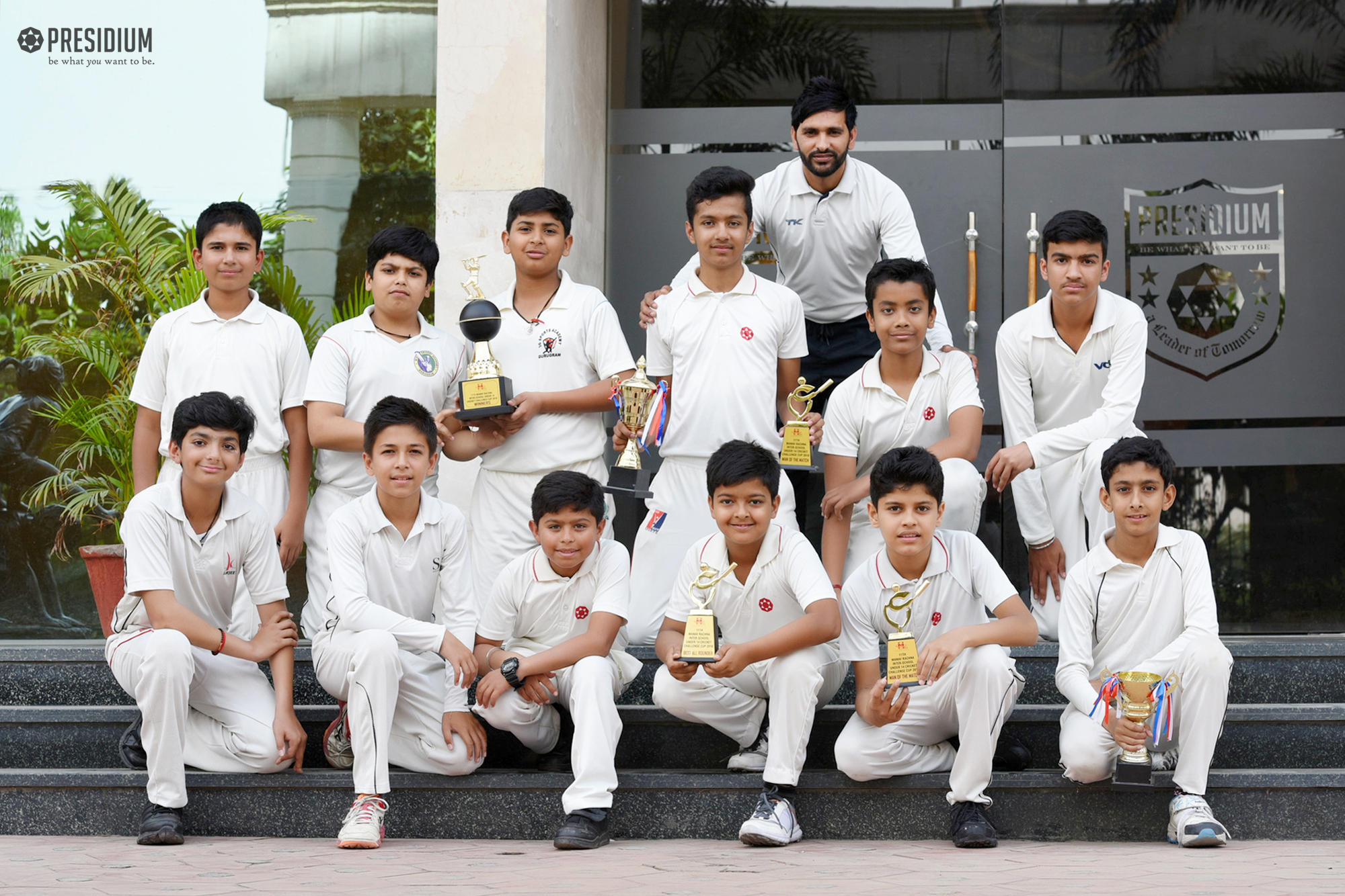 YOUNG CRICKETERS HIT THE WINNING RUNS AT INTERSCHOOL COMPETITION!