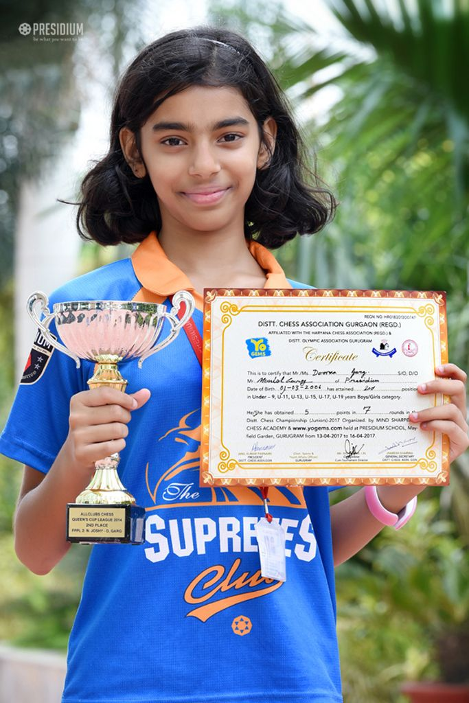 DOORVA BAGS 2ND PLACE AT SGFI DISTRICT CHESS CHAMPIONSHIP 2017