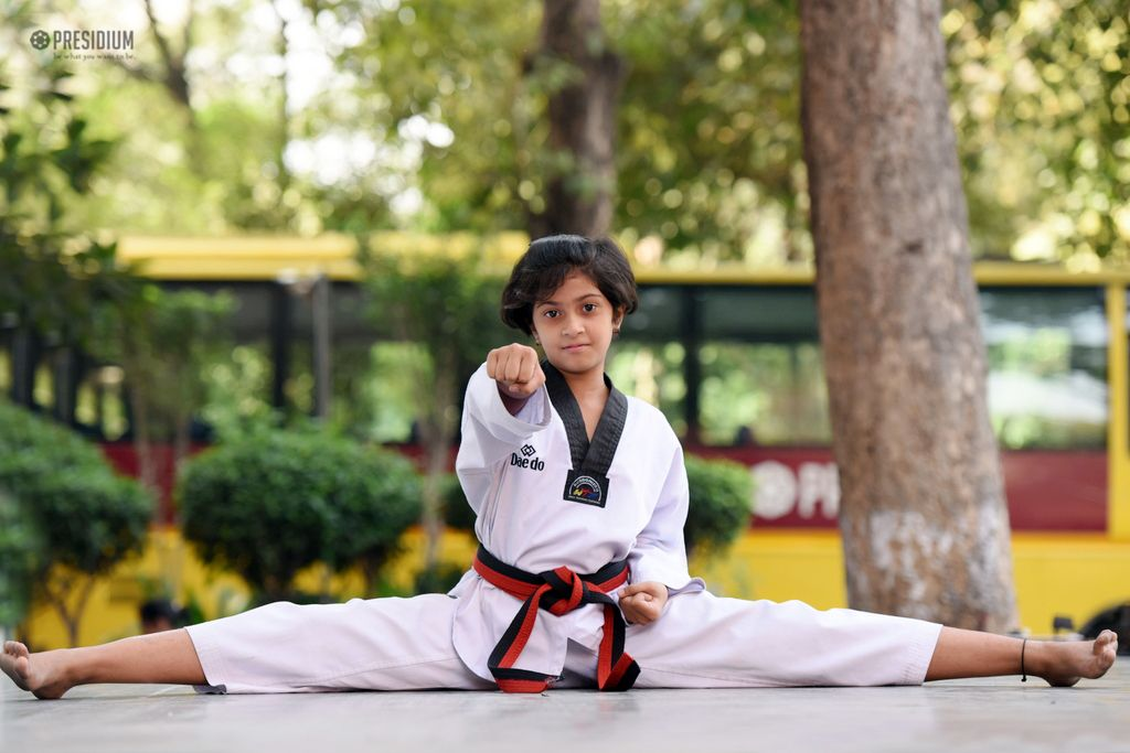 CBSE CENTRAL ZONE TAEKWONDO FINALS: SIYAA PAINTS PRESIDIUM BRONZE