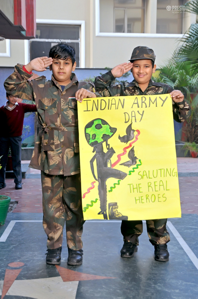 SALUTING OUR SOLDIERS FOR THEIR FORTITUDE ON ARMY DAY