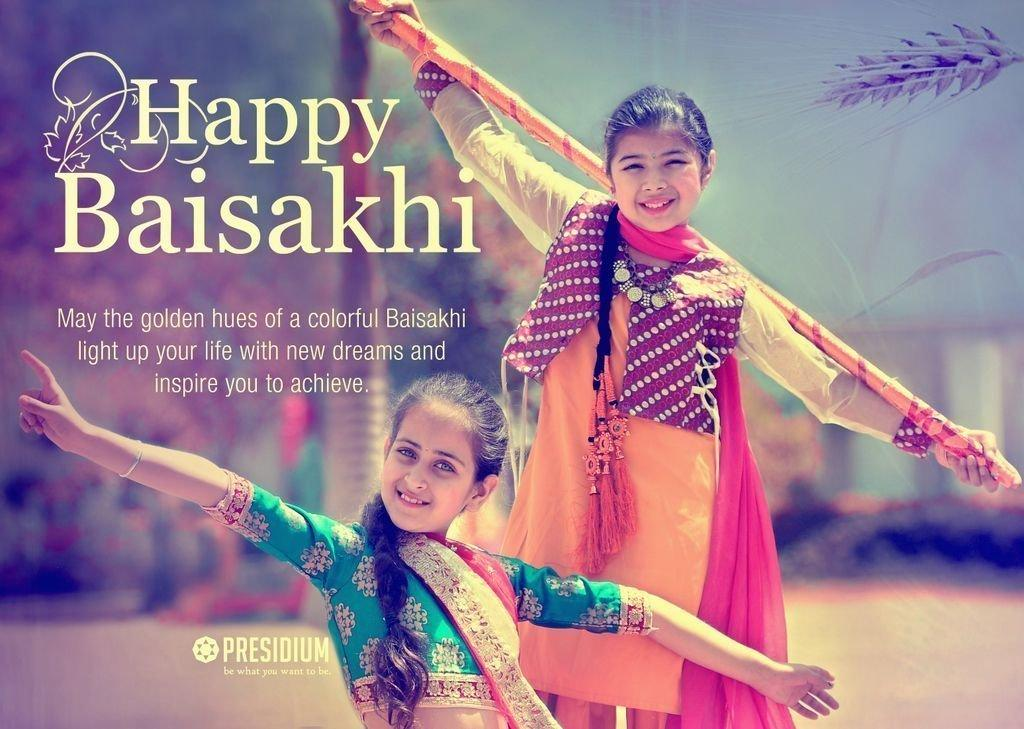 PRESIDIANS SPREAD THE GOODNESS OF THE FESTIVAL OF BAISAKHI