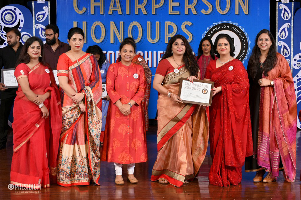 MRS.SUDHA GUPTA LAUDS EFFORTS OF TEACHERS AT CHAIRPERSON HONOURS