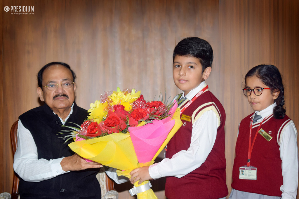 A MEMORABLE CHILDREN'S DAY CELEBRATION WITH SHRI VENKAIAH NAIDU