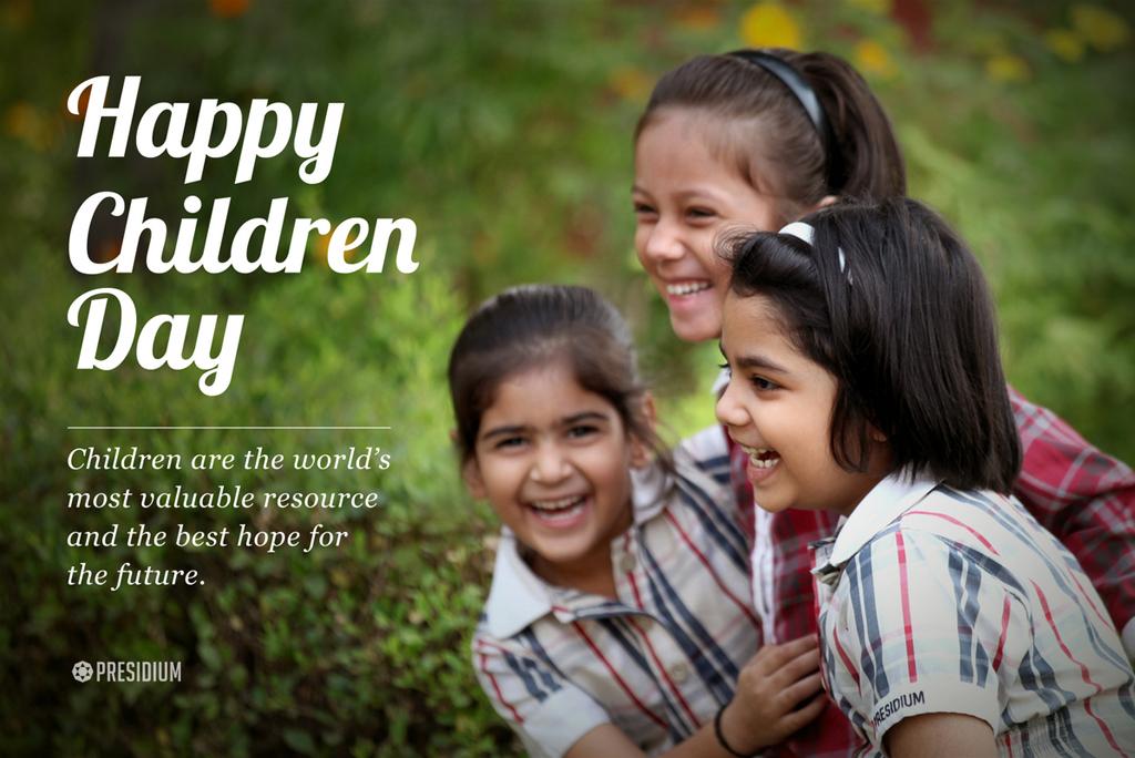 PRESIDIANS CELEBRATE THE SPIRIT OF CHILDHOOD