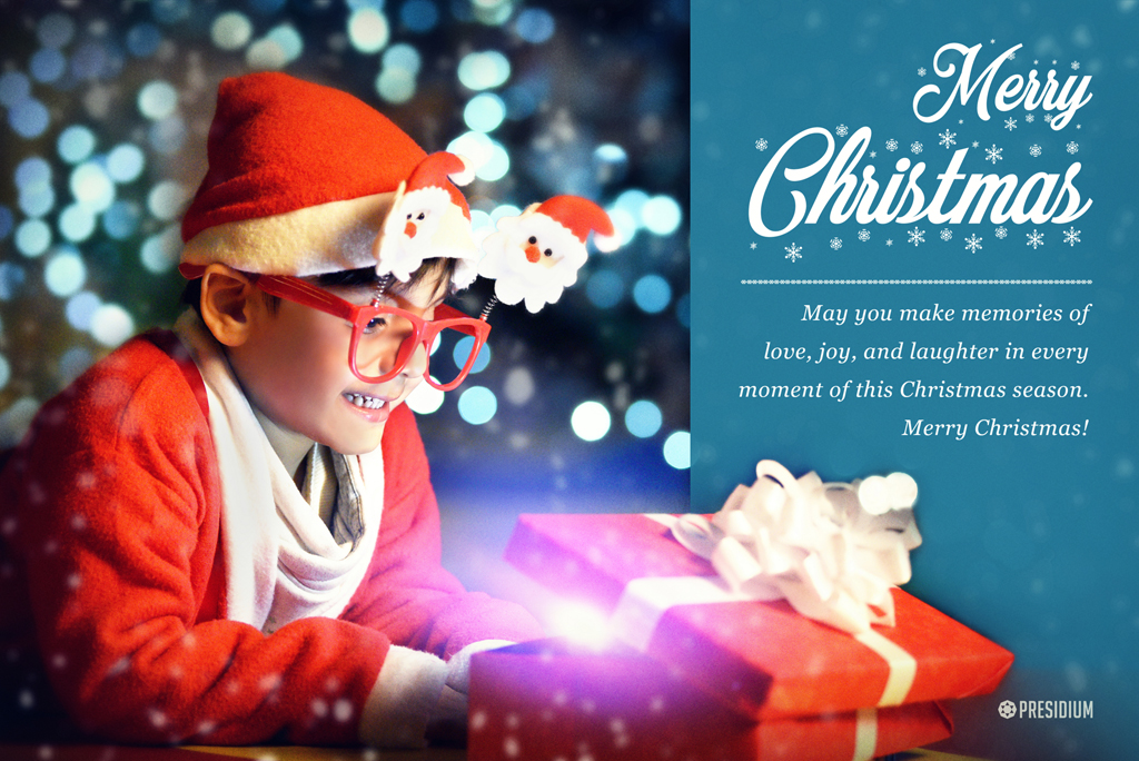 MAY LOVE, HAPPINESS & PEACE BE YOUR GIFTS THIS CHRISTMAS SEASON!